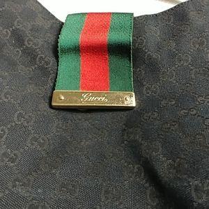 Gucci Hobo Purse Black